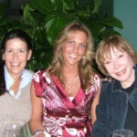 Director Patty Jenkins, Me, and Shirley MacLaine