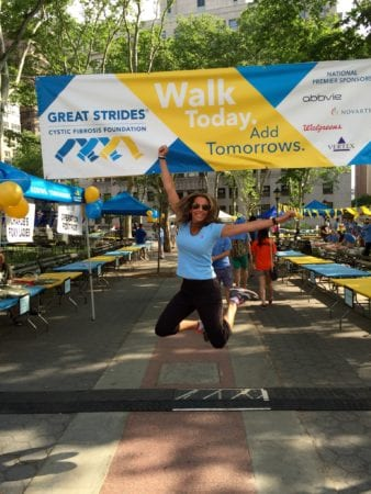 Cystic Fibrosis Great Strides Walk