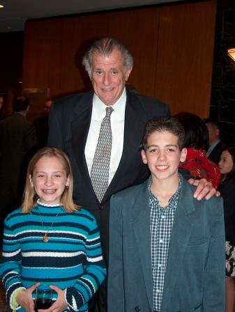 Sportscaster/Writer Frank DeFord with Jena & Eric